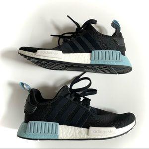 Adidas NMD R1 Black & Light Blue Women's size 7
